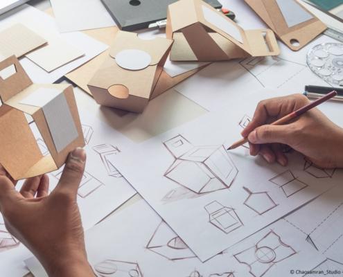 Verpackungen entwickeln - Design, Stabilität