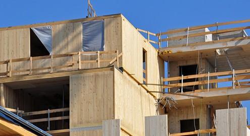 Bauen mit Holz hat viele Vorteile