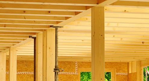 Bauen mit Holz die natürlichste Sache der Welt