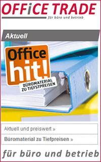 Büromöbel und Bürobedarf - auch für Industriefirmen