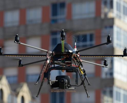 Drohnen als Transportmittel, für Luftaufnahmen etc.?