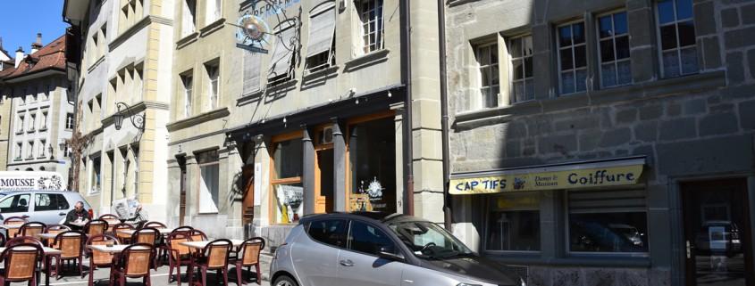 Fassadenreinigung ist Werbung z.B. für ein Restaurant