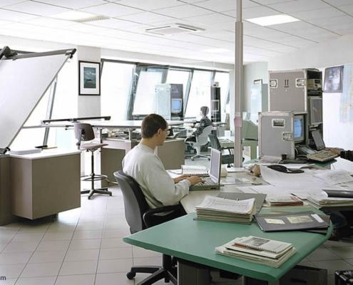 Wie viel Büroraum brauchen wir zum Arbeiten